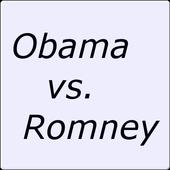 Obama vs. Romney icon