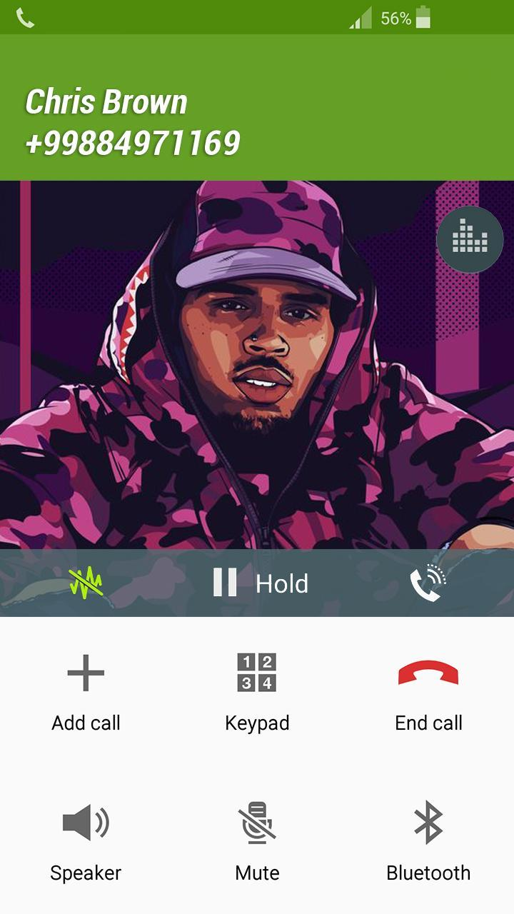 Fake Call Chris Brown for Android - APK Download