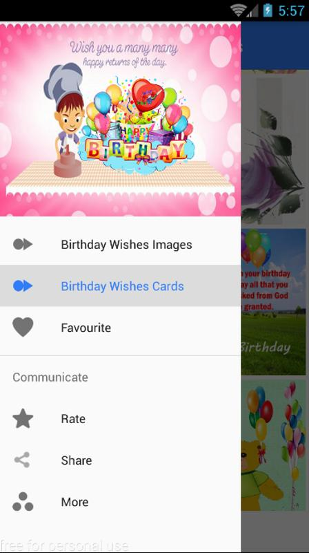 Birthday Wishes App 2018 Wises Screenshot 2