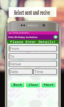 Best Invitation Maker App Birthday Cards Screenshot 4