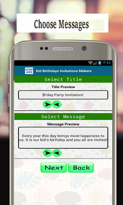 Best Invitation Maker App Birthday Cards For Android