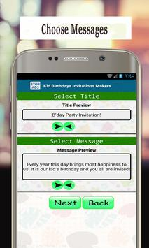 Best Invitation Maker App Birthday Cards Screenshot 3