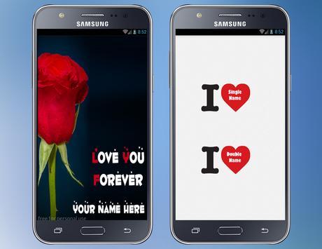 Write Text on Love photo 2018 Write Name On Heart apk screenshot