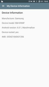 My Device Information apk screenshot