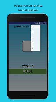 Dice Roller apk screenshot
