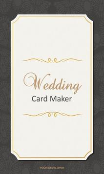 wedding card maker poster