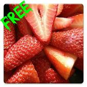 Free Strawberry Live Wallpaper icon
