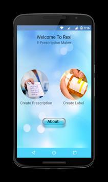 ReXi: E-Prescription Maker poster