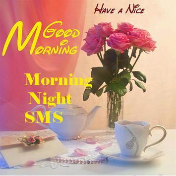 Morning Night SMS & Urdu sms + poster