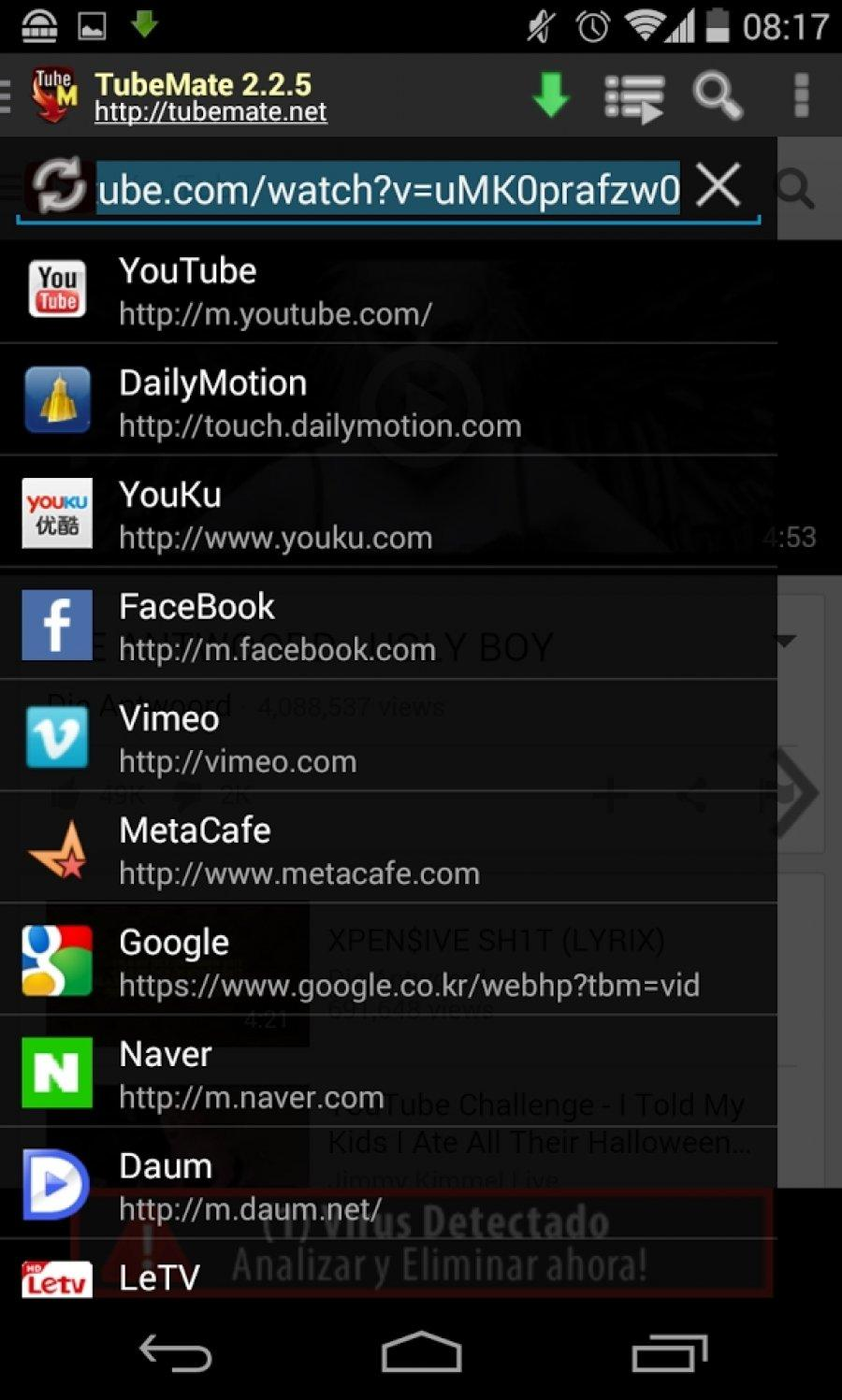 youtube for android apk download