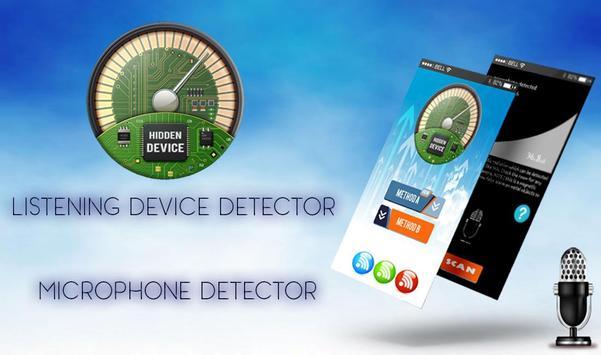 Hidden Microphone Detector & Camera Detector poster