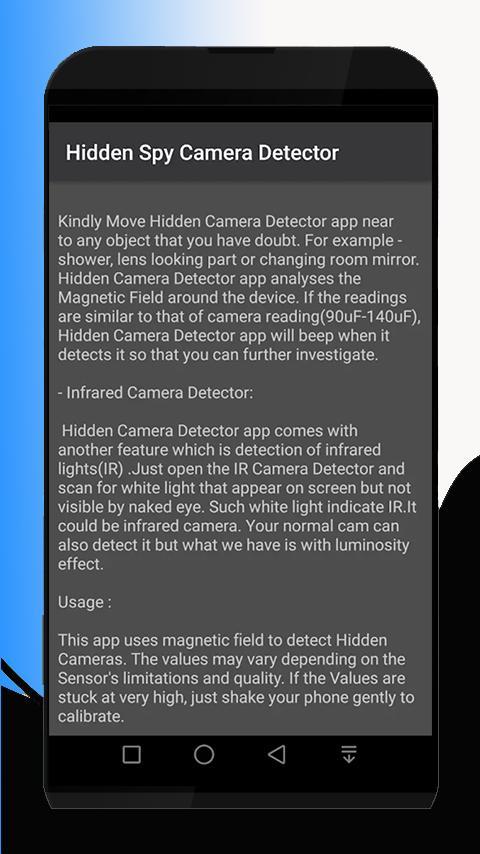 Hidden Devices Detector+Hidden Camera HDV for Android - APK