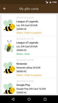 Honey Gift - Free Gift Cards screenshot 4