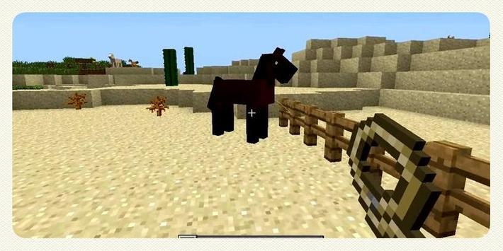 Horses Mod For Minecraft apk screenshot