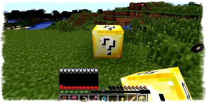 Lucky Block Mod For Minecraft apk screenshot