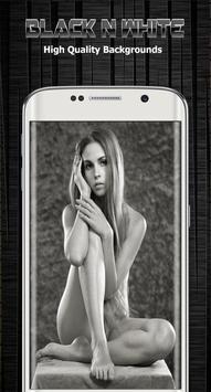 Black and white background screenshot 4
