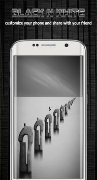 Black and white background screenshot 3