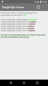 [root] Stagefright Checker apk screenshot