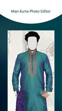 Man Kurta Photo Suit poster