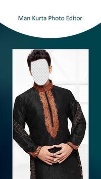 Man Kurta Photo Suit screenshot 2