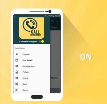 Automatic Call Recorder Pro screenshot 1