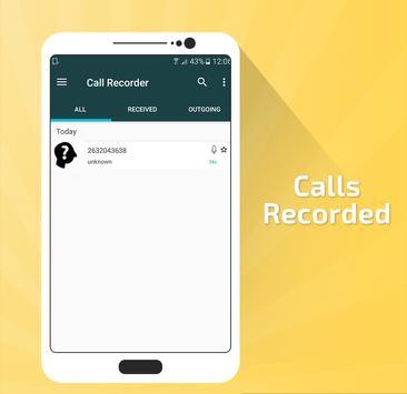 Automatic Call Recorder Pro screenshot 3