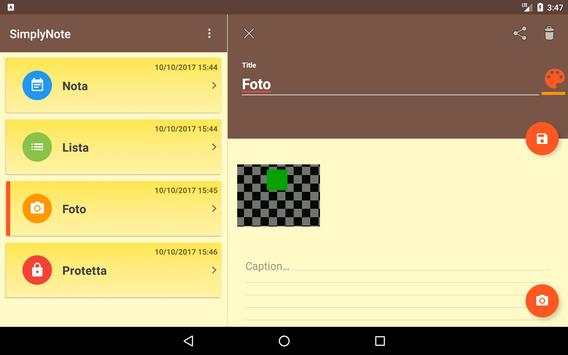 SimplyNote apk screenshot