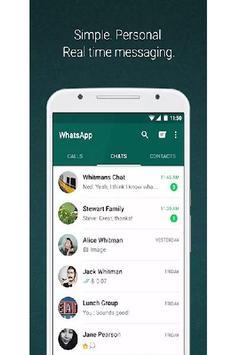 WhatsApp Messenger Lite apk screenshot