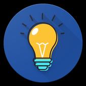 Flashlight smart icon