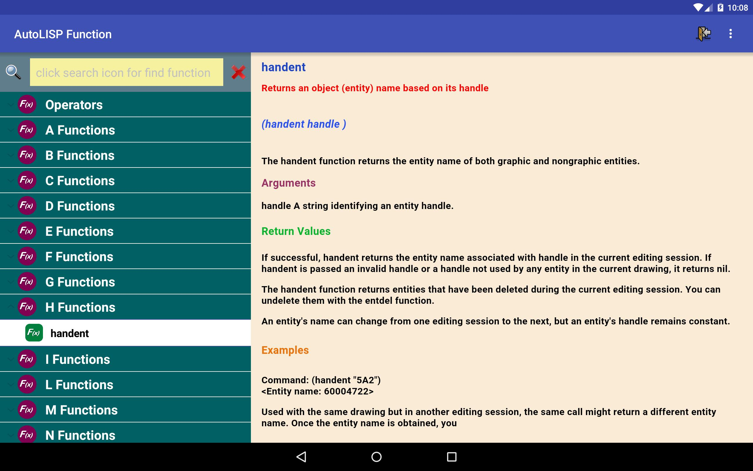 AutoLISP Function for Android - APK Download