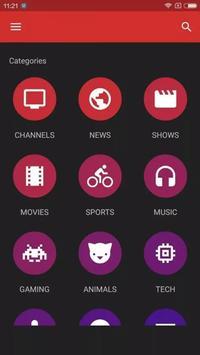 Mobdro App screenshot 2