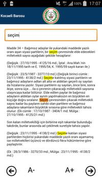 Kocaeli Barosu screenshot 2
