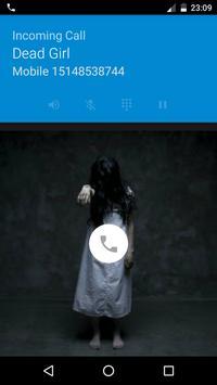 Dead Girl Calling Prank poster