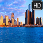 Detroit Wallpapers HD Material icon