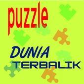 Dunia Terbalik Puzzle icon
