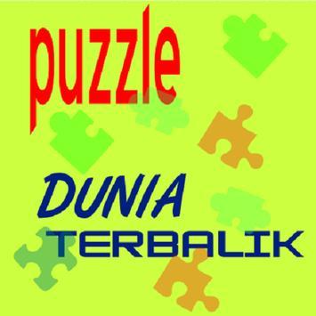 Dunia Terbalik Puzzle poster