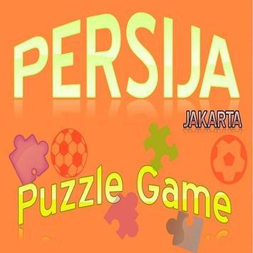 Persija Jakarta Puzzle Game poster