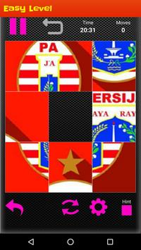 Persija Jakarta Puzzle Game screenshot 1