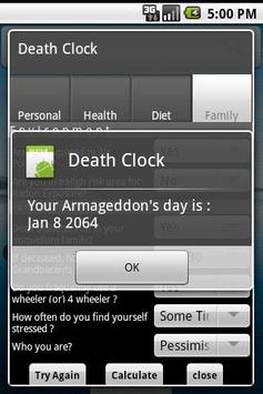 Death Clock apk screenshot