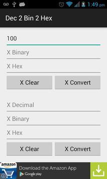Dec 2 Bin 2 Hex screenshot 1