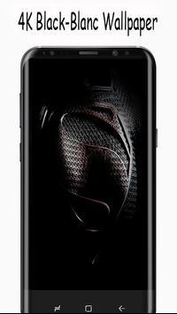 black-blanc whalpaper 4k apk screenshot