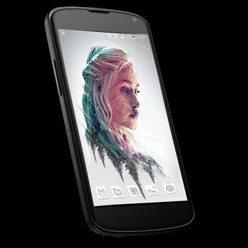 Wallpaper of daenerys targaryen apk screenshot