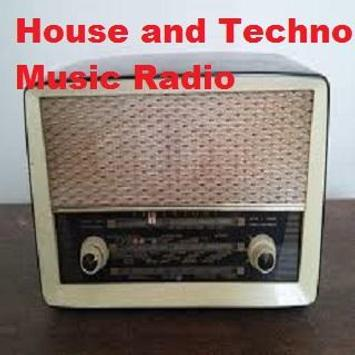 House and Techno Music Radio poster