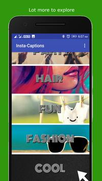 Instagrm Status and Captions 2017 apk screenshot