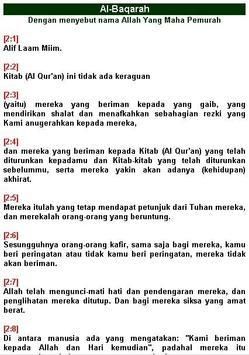 Alquran Terjemah Indonesia apk screenshot