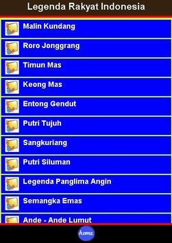 Legenda Rakyat Indonesia poster