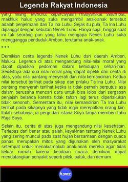 Legenda Rakyat Indonesia apk screenshot