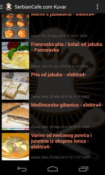 SerbianCafe Kuvar apk screenshot