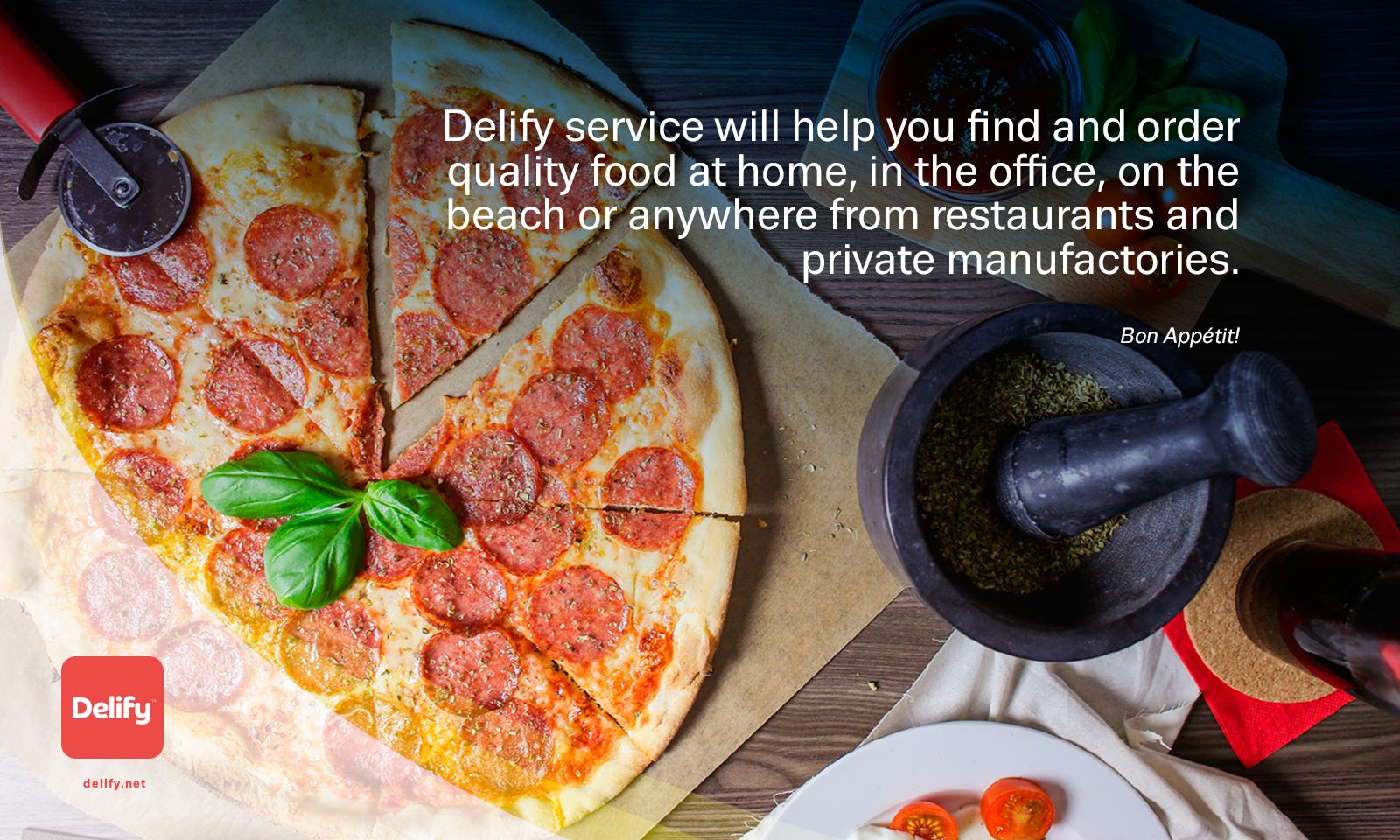 Delify! Food Delivery Service for Android - APK Download