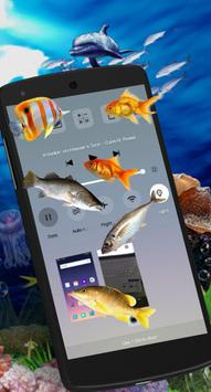 Fish on Screen Aquarium Joke apk screenshot